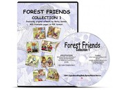 Forest Friends Collection CD ROMs Choice of 3 Titles