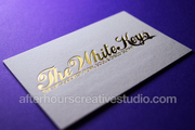 Get Online Gold Foil Business Cards Services