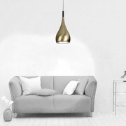 Buy AZzardo Spell France Gold Led Ceiling Light