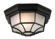 Buy 6 Panel Lantern Flush Fitting Outdoor Light