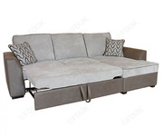 Buoyant Upholstery Maddox Fabric Sofa Bed Chaise with Storage