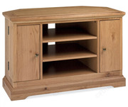 Bentley Designs Provence Oak Corner TV Unit