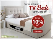 Faux Leather TV Beds Only on £594.99 | Beds Direct UK | Buy Now !!!