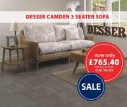 Desser Camden 3 Seater Sofa | Fit your Style & Room Space | FDUK