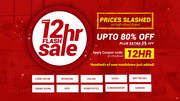 12HR Flash Furniture Sale Up To 80% + Extra 5% Off | On All Furniture