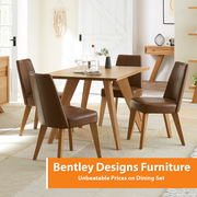 BIG SALE Up to 75% Off on Bentley Designs Dining Furniture Sets Deals