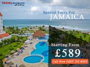 Flights from London Heathrow to Kingston Jamaica