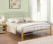 Birlea Furniture Tetras Metal Bed Frame | FDUK
