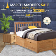 March Madness Furniture Deals get Extra 5% OFF on All Furniture