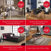 Cost to Cost Clearance Furniture - Offer valid till this Weekend