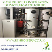 Gas & Oil Boiler Installation Services From EPH Boilers.