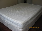 Double diwan bed with mattress for sale @ £120 ono.